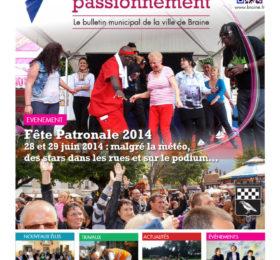 Bulletin municipal Braine juillet 2014