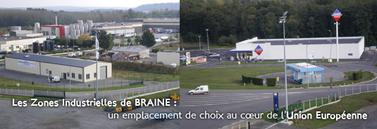 Zone industrielle Braine