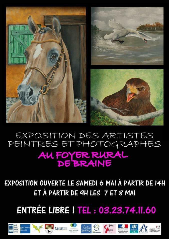 Exposition des artistes