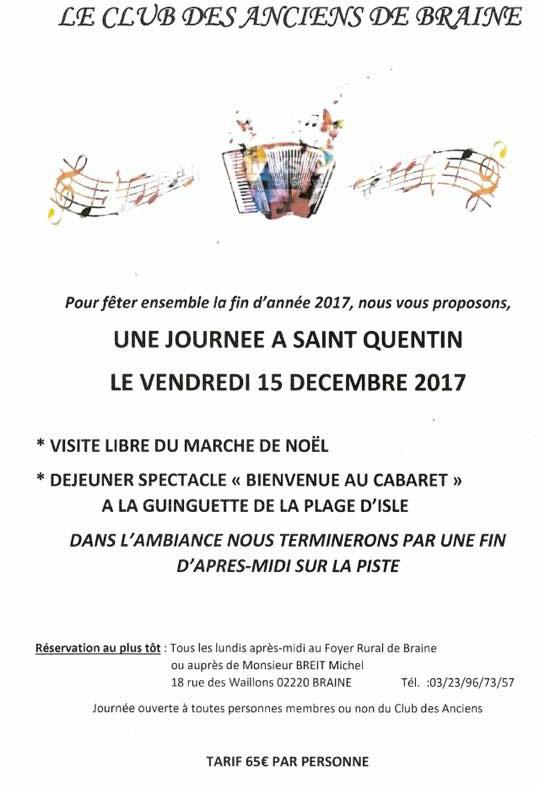 Journée à Saint-Quentin