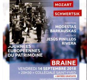 Affiche du concert du 14 septembre