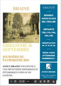 JOURNEES DU PATRIMOINE DIMANCHE 16 SEPTEMBRE