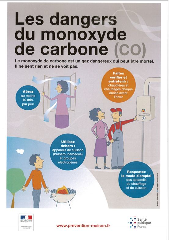 DANGERS DU MONOXYDE DE CARBONNE