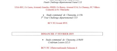 BRAINE CHASSEMY VAILLY FOOTBALL CLUB