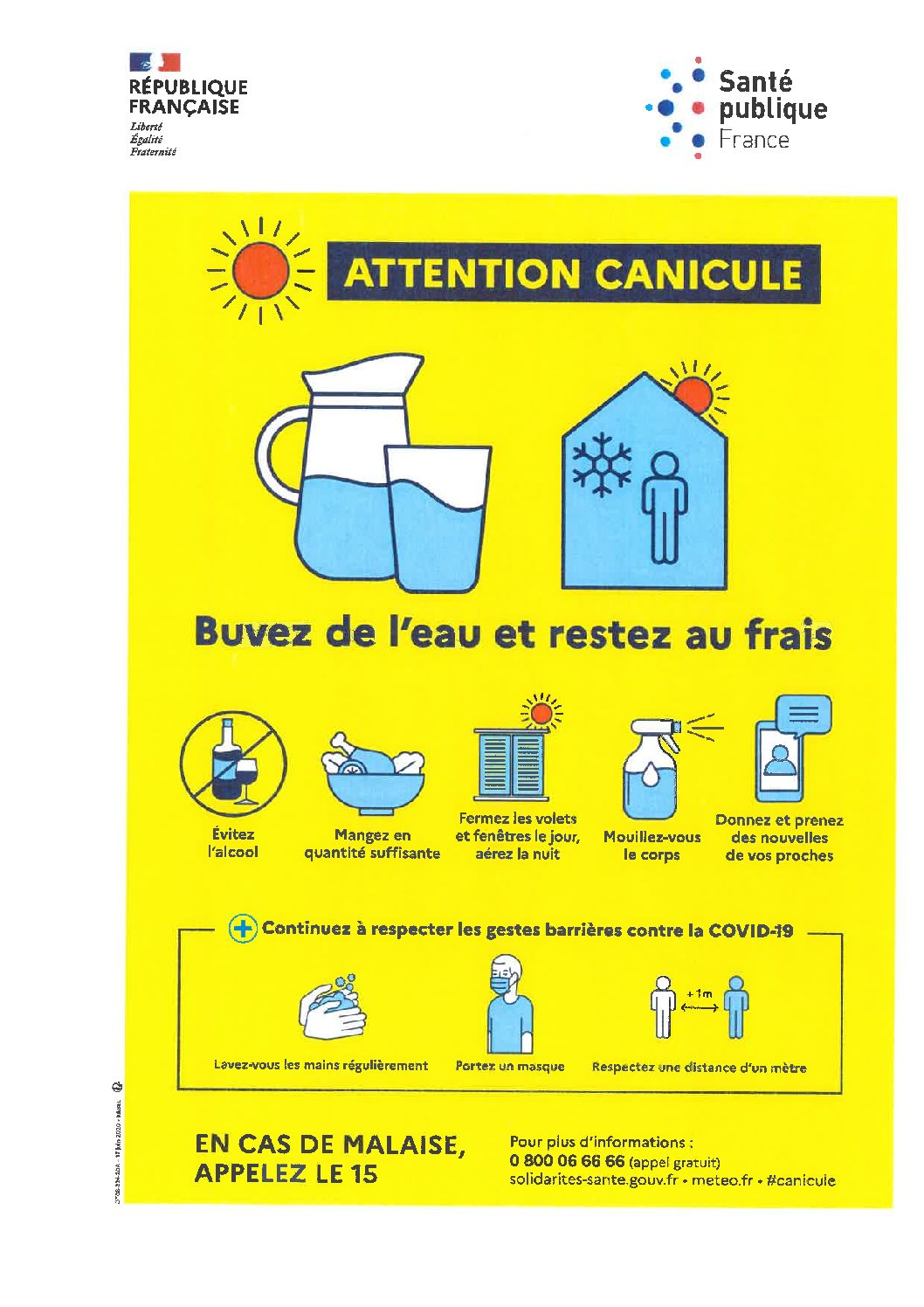 ATTENTION CANICULE