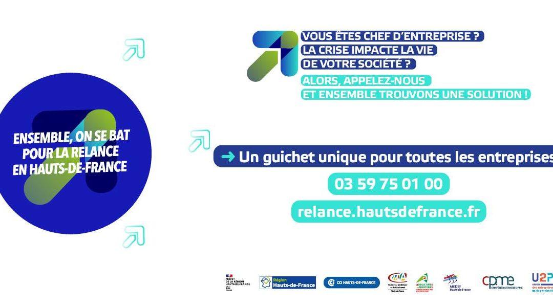 COVID – Aide aux entreprises – Région Hauts-de-France