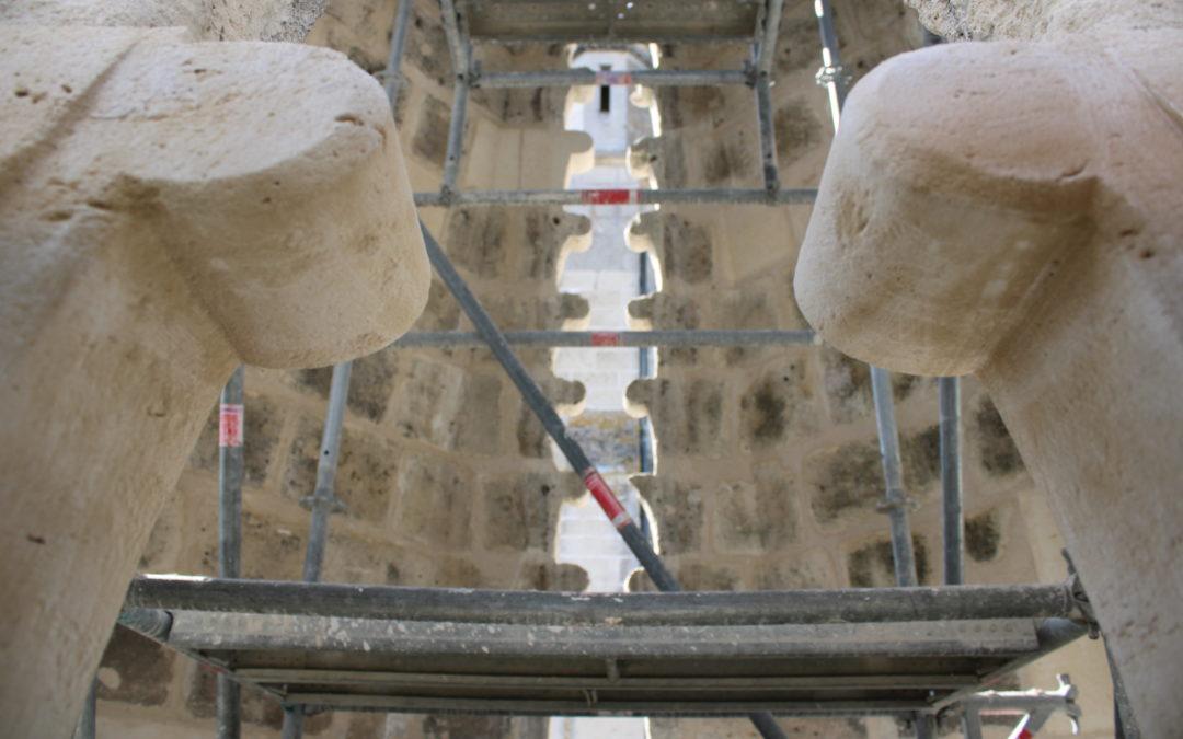 Découvrez les travaux de restauration de l'église Abbatiale Saint-Yved