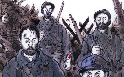 Quatre soldats français :Tome 1   Adieu la vie, adieu l'amour
