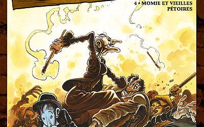 Outlaw – Tome 4 : Momie et vieilles pétoires