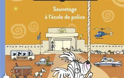 Fizz, chien policier – Sauvetage à l'école de police Tome 02
