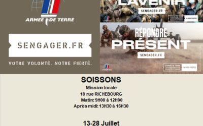 L'armée de terre recrute à Soissons