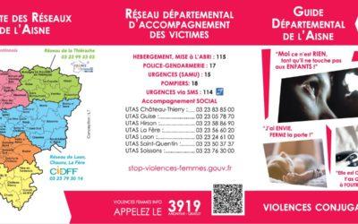 Sensibilisation aux violences conjugales et intrafamiliales /Aisne