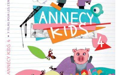 Annecy Kids 4 : DVD Jeunesse
