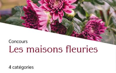 Concours des Maisons fleuries – Inscriptions jusqu'au 15 mai