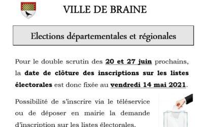Élections départementales et régionales