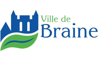Une identité visuelle pour la ville de Braine