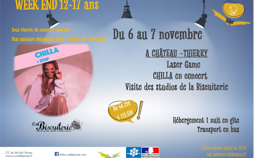 CCVA – Week-end musique – 6-7 novembre 2021